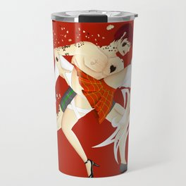 Broken Angels Red Travel Mug