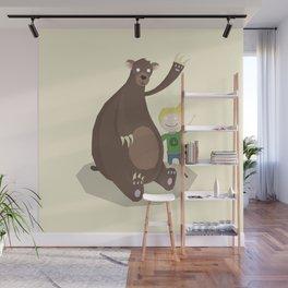 Boy and Bear Wall Mural