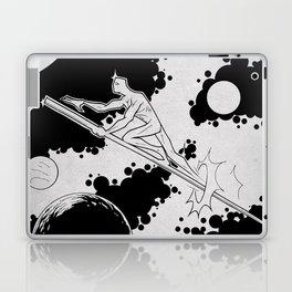 Sky rider of the spaceways Laptop & iPad Skin