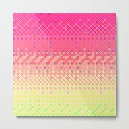Pixel Pattern 5 Metal Print