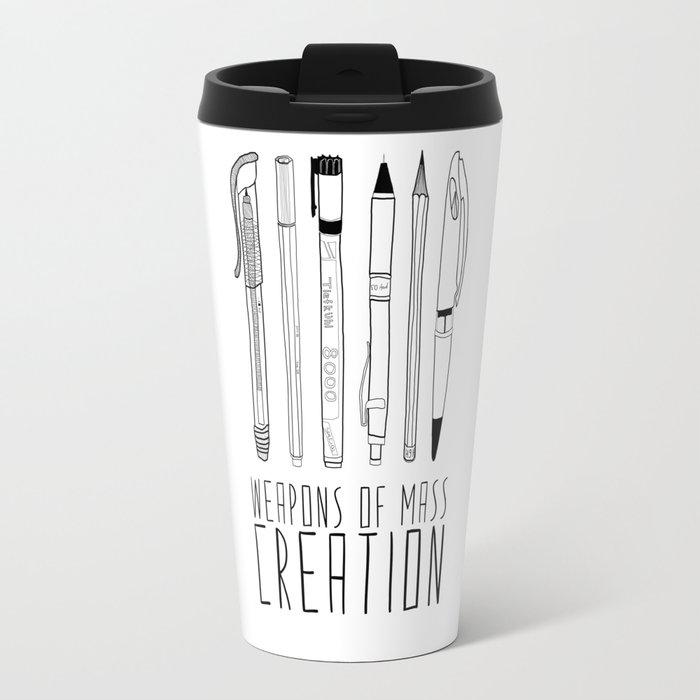 weapons of mass creation Travel Mug