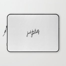 Just do it yourself   [black] Laptop Sleeve