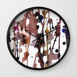 Eating Chocolate Wall Clock
