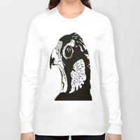 millenium falcon Long Sleeve T-shirts featuring Falcon by Okes