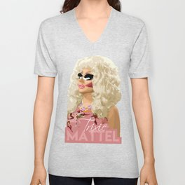 Trixie Mattel, RuPaul's Drag Race Queen Unisex V-Neck