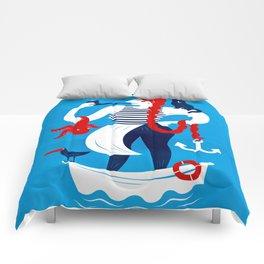 Dona Capitona Comforters