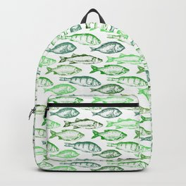 Green Fish Backpack