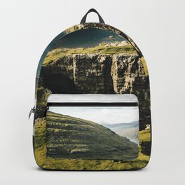 hiker at faroe Backpack
