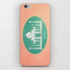 Taj Mahal is Love iPhone Skin