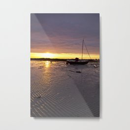 Jersey Sunrise Metal Print
