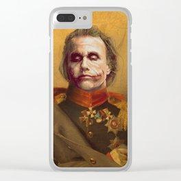 The Joker General Portrait | Fan Art (Personal Favorite) Clear iPhone Case