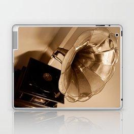 Antique Vintage Gramophone Gifts Music Lovers Laptop & iPad Skin