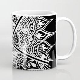 Mandala Divisée Coffee Mug