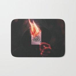 Fire Aces Bath Mat