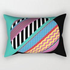 Geometric Full Moon Rectangular Pillow
