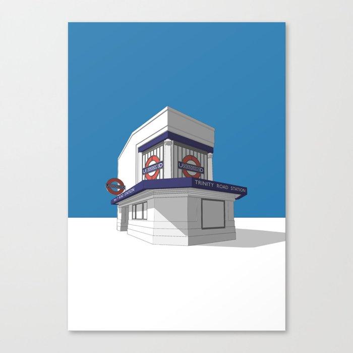 Trinity Road (Tooting Bec) Canvas Print