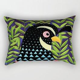 The quail prince has arrived Rectangular Pillow