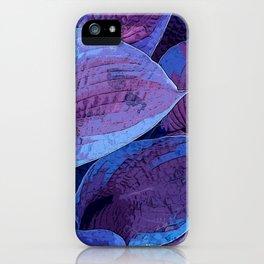 Hosta Purple Pantone 2018 iPhone Case