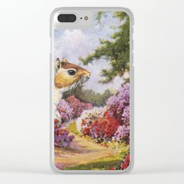 Banishing clouds in Kew Clear iPhone Case