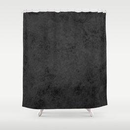 Black suede Shower Curtain