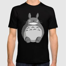 I Love Totoro LARGE Mens Fitted Tee Black