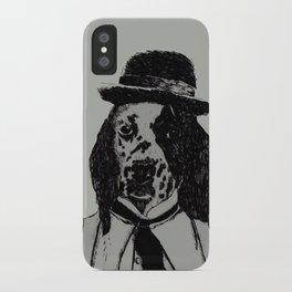 Dog Chaplin iPhone Case