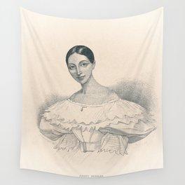 Portrait of Ballerina Wall Tapestry