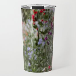 Sweet Pea Garden Travel Mug