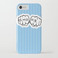blues brothers iPhone & iPod Cases featuring [ Blues Brothers ] Elwood Blues Dan Aykroyd by Vyles