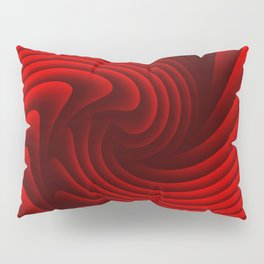 Abstract red 229 Pillow Sham