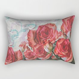 Adoration Of Roses Rectangular Pillow
