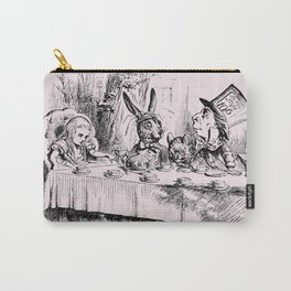 Blush pink - mad hatter's tea party Carry-All Pouch
