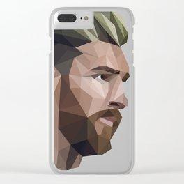 Lio Messi Clear iPhone Case