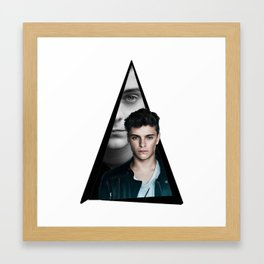 Youtriangle ∆ Martin Garrix Framed Art Print