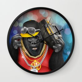 Rapper of the apes iPhone 4 5 6 7, pillow case, mugs and tshirt Wall Clock