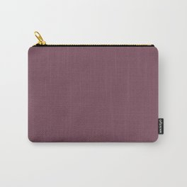 Plain Mulberry Color from SimplyDesignArt's Limited Palette  Carry-All Pouch