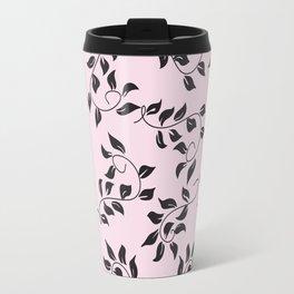 Peite Purple Floral Travel Mug