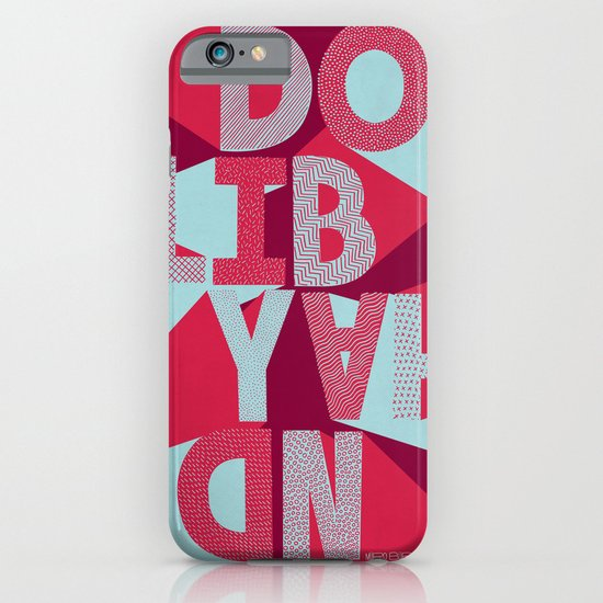 DO IT BY HAND! iPhone & iPod Case