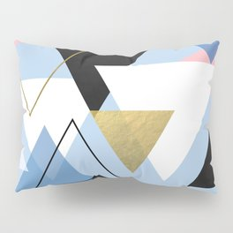 Geo mountain range Pillow Sham