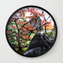 little garden Wall Clock