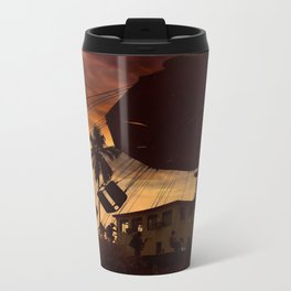 Fun City Metal Travel Mug