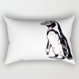 Pez the Humboldt Penguin Rectangular Pillow