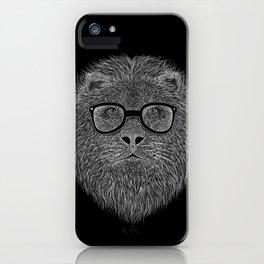 WHITE LION iPhone Case