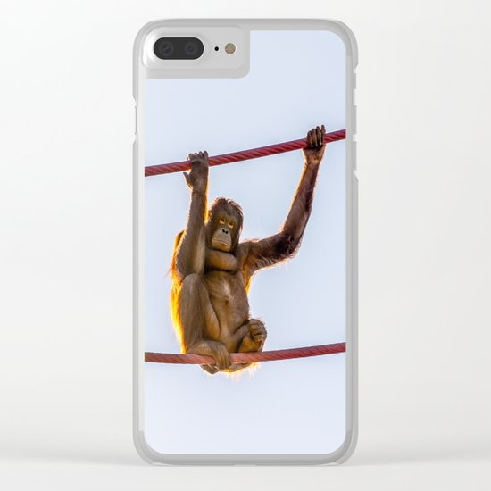 On the Wire Clear iPhone Case