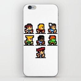 Minimalistic - Street Fighter - Pixel Art iPhone Skin