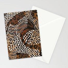 African Animal Print Safari Pattern  Stationery Cards