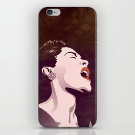 Billie Holiday iPhone Skin