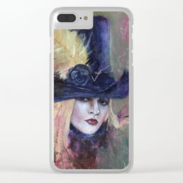 Stevie Nicks My Heart Clear iPhone Case