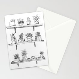 Succulent Fever Stationery Cards