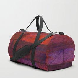Orange and Purple Duffle Bag